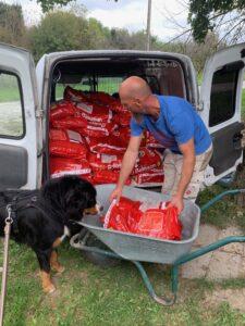 Hundefutter Lieferung IMG_3102