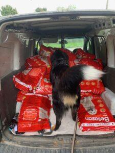 Hundefutter Lieferung IMG_3103
